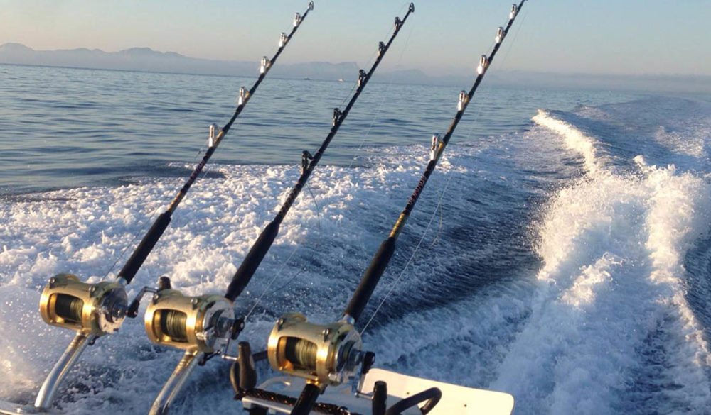 Fishing Equipment for Deep Sea Fishing in Mallorca (Alcudia). Offshore.