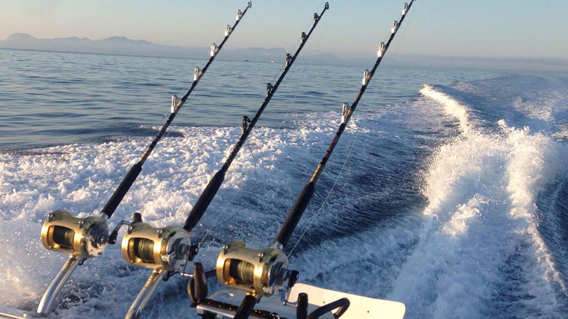 Fishing Equipment for Deep Sea Fishing in Mallorca (Alcudia). Offshore.